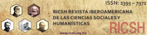 revista cccss contribuciones a las ciencias sociales ricsh revista iberoamericana de las ciencias sociales y