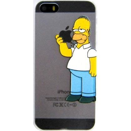 iphone 5s sles coque iphone 5 iphone 5s homer quot pomme 2015 quot achat coque