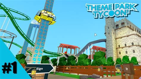 theme park xbox one let s play theme park tycoon 2 episode 1 inverted
