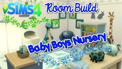 Baby Room Wall Sticker the sims 4 room build baby boy s nursery youtube