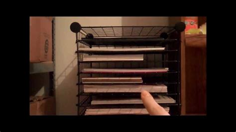 Make Your Own Rack by How To Make Your Own Paper Storage Rack Diy