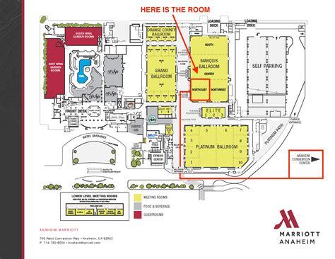 Anaheim Convention Center Floor Plan anaheim convention center floor plan dining options at