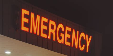 Emergency Room Signage by Brian Sinclair Inquest Hears Emergency Room Crowding Isn T