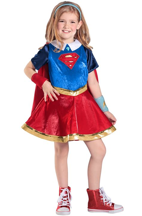 premium supergirl child costume purecostumescom