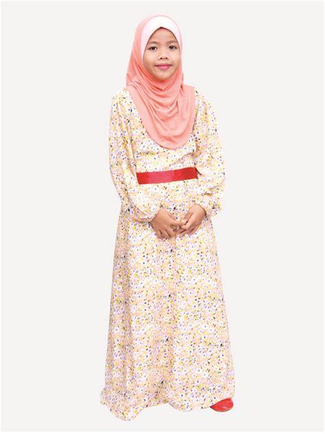 Baju Murah 326 baju gown kanak kanak malaysia baju maxi dress kanak kanak