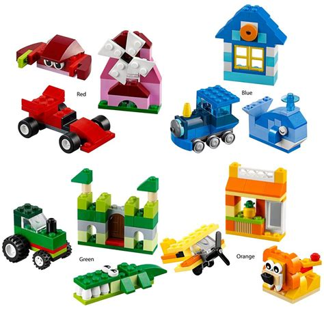 Jual Lego Classic Creative Box Blue Green Orange lego 174 classic creativity box creative kidstuff