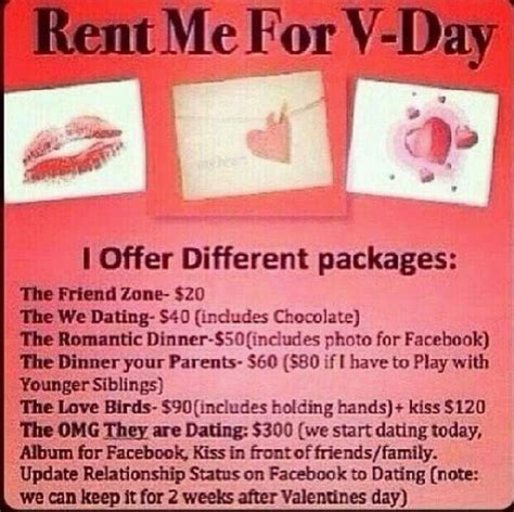 Rent A For A Day by Rent Me For Valentines Day Haha Ohhhhh Hmmmm