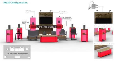 booth design materials asu booth design by anatevka maria arguezo at coroflot com