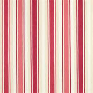 awning stripe pale cranberry fabric