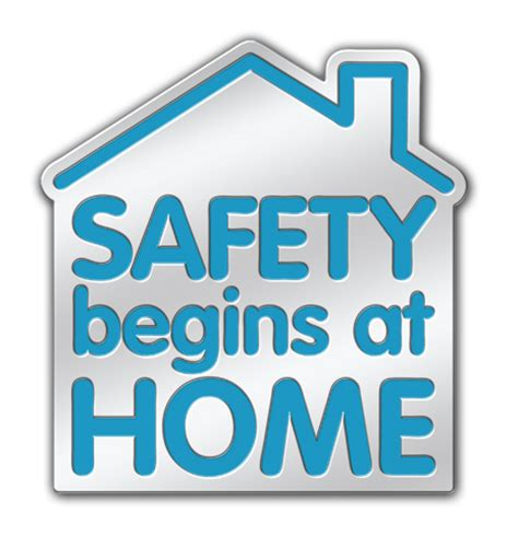 national safe at home week lapel pins saves lives lapel