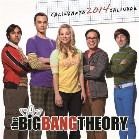 Big T Calendario Calendario 2018 Calendar 2014 Big Theory