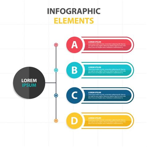 infographic flowchart template create a flowchart