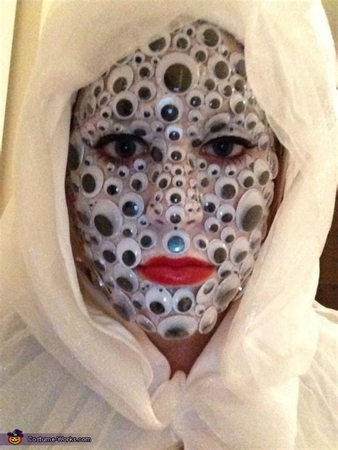 crazy eyes adult costume