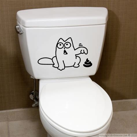 funny bathroom stickers pin by ambiance live stickers on wall decals bathroom and