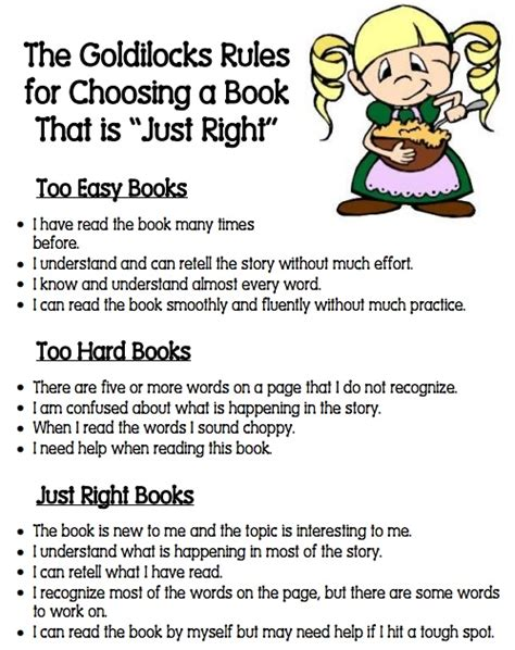 goldilocks and the just right potty books goldilocks for choosing a quot just right quot book