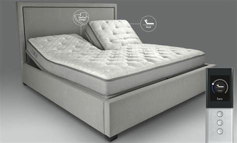 sleep number king size bed sleep number adjustable bed frame sleep number split