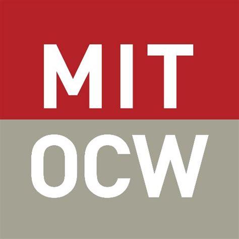 Mit Mba Mitopencourseware mit opencourseware mitocw