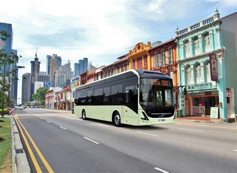 volvo web volvo a singapore test per l autobus elettrico e
