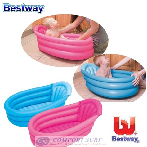 inflatable bathtub malaysia bestway 51113 inflatable baby bathtub baby pool 11street malaysia bathing skin care