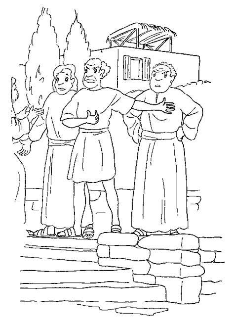 coloring page for job kids n fun com 126 coloring pages of bible stories