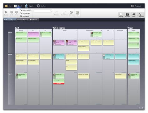Kanban Spreadsheet Template by Best Photos Of Kanban Excel Template Excel Kanban Board