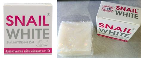Snail White Thailand snail white whitening soap 75g thailand best selling