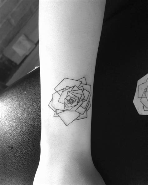 geometric tattoo tiny 22 rose tattoo designs ideas design trends premium