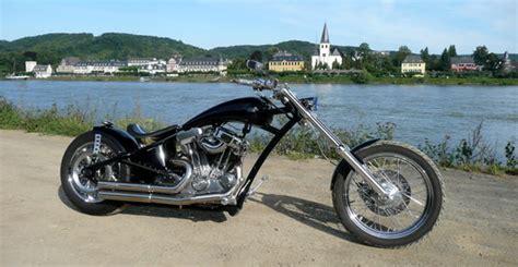 Motorrad Gabel Umbau T V by Harley Davidson Umgebaute Sportster 883 Motorrad Von