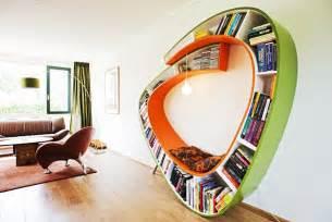Reading Chair Modern Design Ideas Decoration Bookworm Bookshelf Design Images Fubiz Media