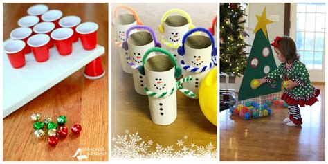 home made christmas gift games 22 activities for table ideas