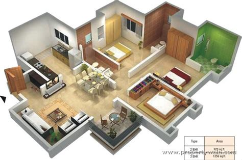 home design 3d two story park xpress baner pune apartment flat project