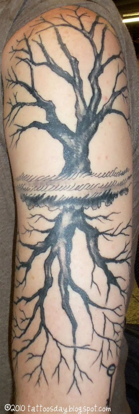 kaz tattoo nyc tattoosday a tattoo blog brian s mat tree monial tattoo