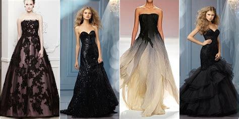 Gaun Pesta Manado Free Ongkir 7 gaun pengantin cantik berwarna hitam supplier baju