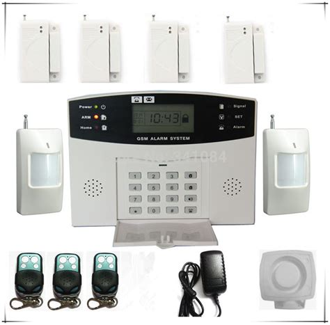 free shipping promotional best gsm alarm system wireless