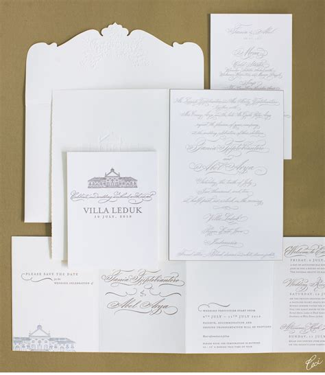 wedding invitation printing indonesia v74 our muse glamorous wedding in indonesia tania
