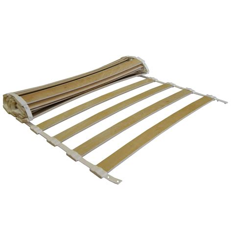 bed slats flexible roll out beech sprung bed slats 1220mm