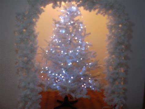 comprar arbol de navidad blanco arbol de navidad color blanco 550 00 en mercadolibre