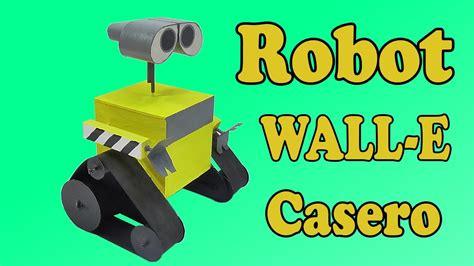 como hacer un wall e con material reciclable c 243 mo hacer robot wall e muy f 225 cil de hacer youtube