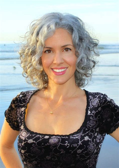 hairstyles for thick grey wavy hair 17 best images about curly gray hair on pinterest