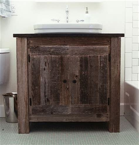 reclaimed bathroom cabinet reclaimed wood vanity with vessel sink home
