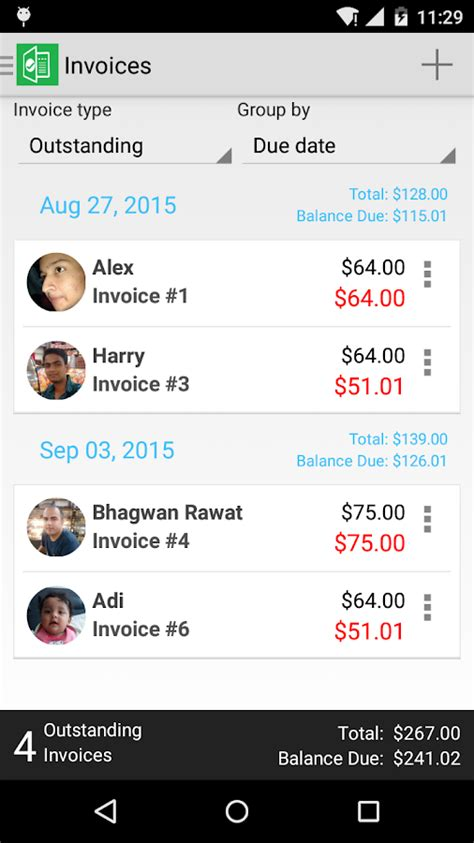 invoice maker pro apk invoice maker 1 3 1 apk android business apps