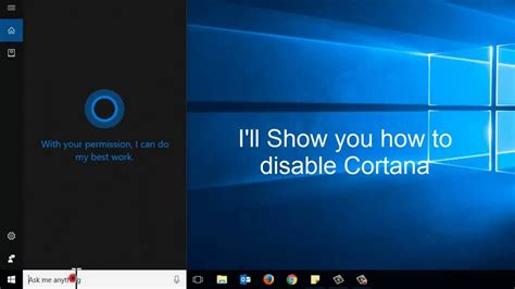 cortana search box is limited in windows 10 to microsoft disable cortana and get search box search icon back