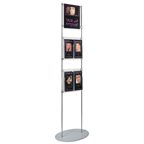 One Shanks Acrylic Stand 2d shop display systems advertising and product displays