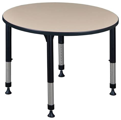 kee 42 quot adjustable height table contemporary