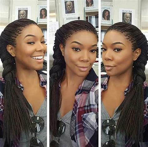 microbraids and no sides 41 beautiful micro braids hairstyles stayglam