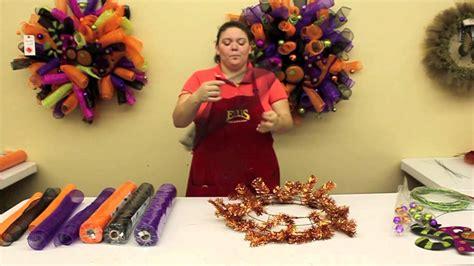 halloween wreath youtube