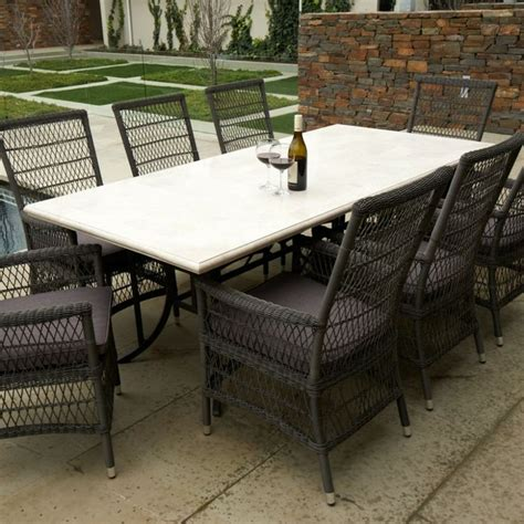 Travertine Patio Table by Lovable Travertine Outdoor Table Best Images About Outdoor