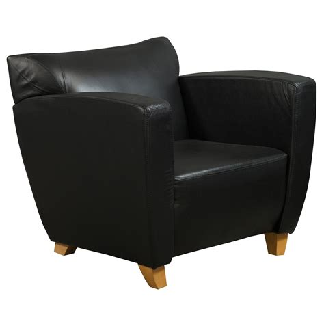 leather reception chairs used pu leather reception chair black national