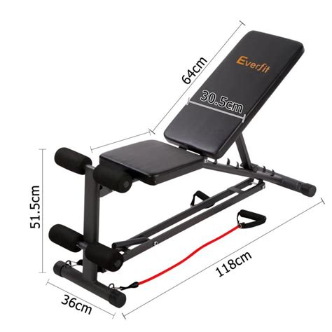 resistance band bench fid flat adjustable bench 150kg resistance bands buy