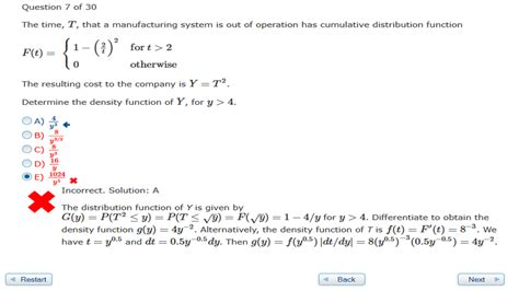 probability distributions actuary p 1 question mathematics stack exchange
